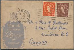 Alle Welt: 1900 - 1950 (ca.), Accumulation Of Ca. 290 Picture-postcards With Various Motives From Al - Sammlungen (ohne Album)