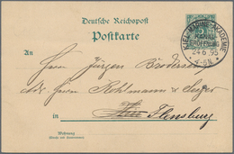 Schiffspost Alle Welt: 1901/1952, 16 Interesting Covers And Cards With French, British And German Sh - Postzegels