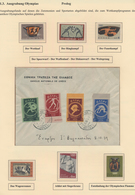 Thematik: Olympische Spiele / Olympic Games: 1896/2013 (ca.), Extensive Collection In 15 Albums. Thr - Olympische Spiele