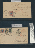 Lettland: 1868/1941, Deeply Specialised Collection In Eight Binders, Comprising Stamps And Especiall - Lettland