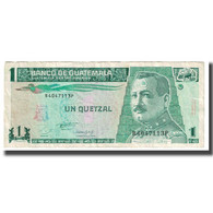 Billet, Guatemala, 1 Quetzal, 1993, 1993-10-27, KM:73c, TTB - Guatemala