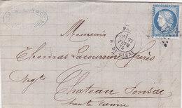 4 - CERES 60  -  PARIS  A  CHATEAU PONSAC - 1849-1876: Classic Period