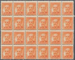 Spanien: 1938, Fermin Salvochea Y Alvarez 60c. Orange In A Lot With Approx. 1.000 (!) Stamps Incl. M - 1850-68 Königreich: Isabella II.