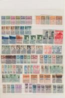 Spanien - Zwangszuschlagsmarken Für Barcelona: 1929/1945, Specialised Collection Of The Compulsory S - Kriegssteuermarken