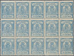Spanien - Besonderheiten: 1930 (ca.?), Fiscal Stamp Issue 'TIMBRE PARA FACTURAS' 25 Centimos Pale Bl - Spanien