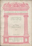 """Philatelistische Literatur - Übersee - Asien: 1926, """"Philatelic Bulletin"""" Published By Chinese Phila - Fachliteratur"""