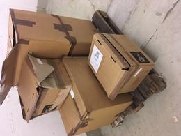 Zubehör: SCHUBER, SCHUBER, SCHUBER - 14 Paletten Mit Schubern Und Albenhüllen In Kartons Verpackt Un - Briefmarken
