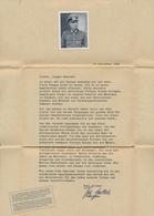 Ansichtskarten: Propaganda: 1942, DEUTSCHES HEER, Zwei Werbeschreiben Mit Dem Bild Von Ritterkreuztr - Parteien & Wahlen