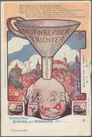 Ansichtskarten: Alle Welt: 1890/1920 (ca.), DEUTSCHLAND Und Etwas ALLE WELT, Partie Von Ca. 70 Meist - Zonder Classificatie