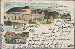Ansichtskarten: Karton Mit Mehreren Hundert Ansichtskarten, Viele Aus Württemberg Auch Mit Kleineren - Postkaarten