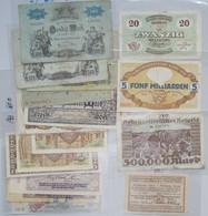 Deutschland - Notgeld - Baden: Lot 17 Banknoten, Dabei 13 Länderbanknoten (BAD4 Bis BAD12) Sowie 29 - [11] Lokale Uitgaven
