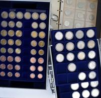 Alle Welt: Umfangreiche Sammlung Mit Münzen Aus Aller Welt Mit Einem Hohen Anteil An 5 Und 10 D-Mark - Munten