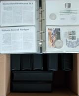 Alle Welt: Auf Zwei Kartons Verteilte Umfangreiche Sammlung. Dabei Numisbriefen Aus Aller Welt (11 A - Munten
