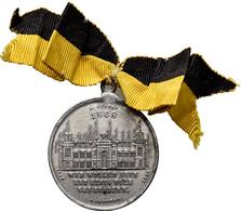 Medaillen Deutschland: Lot 2 Medaillen: 3. Deutsches Bundes-Schießen 1868 In Wien: Zinnmedaille 1868 - Germany