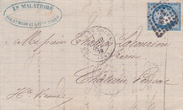 5 - CERES 60  -  ROUEN  A  CHATEAU PONSAC - Postmark Collection (Covers)