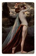 """CPA. Solomko. """"  La Charmeuse  """" Illustrateur Russe.Russie.Nude.Nue.érotisme.girls.Woman.           .E.48 - Solomko, S."""