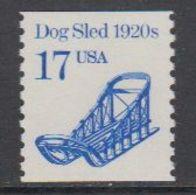 USA 1986 Dog Sled 1v ** Mnh (43129G) - Verenigde Staten