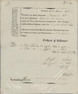 Bayern - Besonderheiten: NÜRNBERG: 1778/1852 Ca., Konvolut Von 9 Fuhrmannsbriefen Bzw. -Belegen, Dav - Beieren