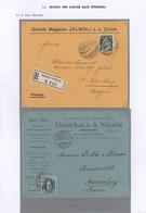 Bayern - Besonderheiten: Eingehende Post: 1873/1955 Ca., Belege Aus Aller Herren Länder Mit Bestimmu - Beieren