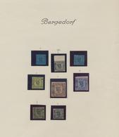 Bergedorf - Marken Und Briefe: 1861/1867, Kleine Sammlungspartie Mit Sechs Ungebrauchten Und Zwei Ge - Bergedorf