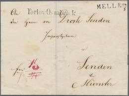 Hannover - Vorphilatelie: 1709 Ab Ca., Partie Mit Ca.40 Belegen U. Postscheinen, Dabei Nachnahme- Un - Duitsland