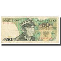 Billet, Pologne, 50 Zlotych, 1988, 1988-12-01, KM:142b, TB - Pologne