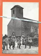 MAI 1940 -  Hitler , Goering Et L'Etat-Major Allemand Devant L'Eglise De BRULY-DE-PESCHE - Couvin
