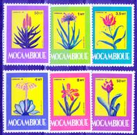 MOZAMBIQUE  1985  FLOWER   MNH  SET - Mozambique