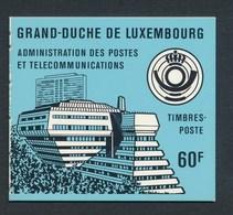 LUXEMBURG Markenheft Mi. 1 Postfr. Post Und Telekommunikation - Booklets