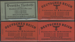 Deutsches Reich - Markenheftchen: 1929/1941, Postfrische Zusammenstellung Von MH, MHB Und Zusammendr - Duitsland