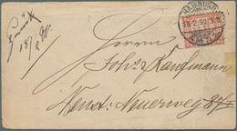 Deutsches Reich - Privatpost (Stadtpost): 1866/1900 (ca.), Sammlung Von Ca. 65 Belegen Mit Berlin, H - Privé