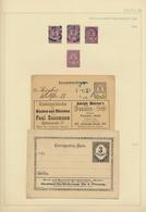 Deutsches Reich - Privatpost (Stadtpost): 1873/1900, Substanzreiche Sammlung Der Berliner Privatpost - Privé