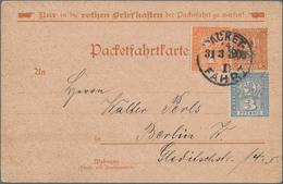 Deutsches Reich - Privatpost (Stadtpost): BAMBERG Bis ZITTAU, Sammlung Quer Durch Die Deutsche Stadt - Privé