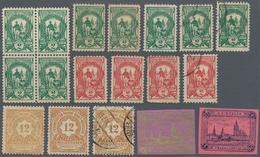 Deutsches Reich - Privatpost (Stadtpost): FRANKFURT, Sammlung Von 245 Marken Einschließlich Viererbl - Privé