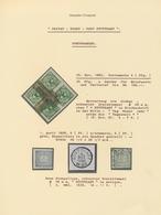 Deutsches Reich - Privatpost (Stadtpost): STUTTGART Privat-Stadtpost, 1886/1899, 2-bändige Ausstellu - Privé