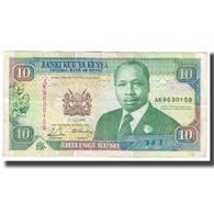 Billet, Kenya, 10 Shillings, 1990, 1990-07-01, KM:24c, TTB - Kenia
