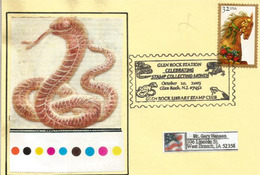 USA. Glen Rock Amphibian And Reptile Collection (New-Jersey), Special Postmark , Year 2003 - Reptilien & Amphibien