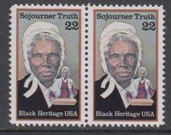 USA 1986 Sojourner Truth 1v (pair) ** Mnh (43129K) - Verenigde Staten
