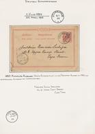 Deutsch-Südwestafrika: 1898/1912, Kleiner Auf Albumblätter Aufgezogener Sammlungsbestand Von 30 Bele - Kolonie: Duits Zuidwest-Afrika
