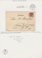 Deutsch-Südwestafrika: 1900/1914, Kleiner Auf Albumblätter Aufgezogener Sammlungsbestand Von 37 Bele - Kolonie: Duits Zuidwest-Afrika