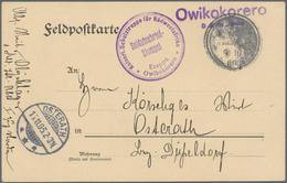 Deutsch-Südwestafrika: Umfangreiches Konvolut/Sammlung Von Mehreren Hundert Marken In Allen Erhaltun - Kolonie: Duits Zuidwest-Afrika