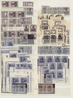 Deutsche Besetzung I. WK: Rumänien: 1917/1918, Sauber Sortierter Bestand Auf Stecktafeln, Durchgehen - Bezetting 1914-18