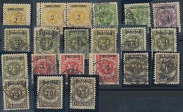 Memel: 1874/1923, Meist Gestempeltes Lot Auf Steckkarten Ab Einigen Vorläufern, Dabei Auch Netter Te - Memel