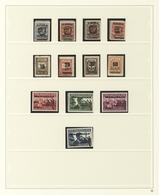 Memel: 1920/1923, In Den Hauptnummern Augenscheinlich Komplette, Meist Ungebrauchte Sammlung Auf Saf - Memel