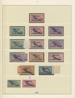 Memel: 1920/1923, Parallel In Beiden Erhaltungen Geführte Sammlung Im Lindner-Ringbinder, Augenschei - Memel