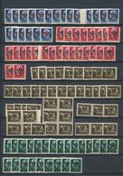 Dt. Besetzung II WK - Laibach: 1944, Postfrische/ungebrauchte Zusammenstelung Von Ca. 660 Marken Inc - Bezetting 1938-45