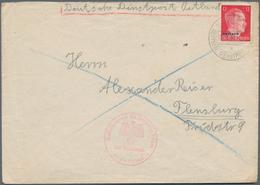 Dt. Besetzung II WK - Ostland: 1941/1944, 31 Belege, Dabei Einschreiben, Zensur, Flugpost U.a. Sowie - Bezetting 1938-45