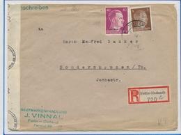 Dt. Besetzung II WK - Ostland: 1942/1944, Sehr Interessante Partie In Selbstgestaltetem Ordner Mit C - Bezetting 1938-45