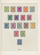 Bundesrepublik Und Berlin: 1948/2001, Sammlungsbestand In Neun Alben (meist Falzlos-Vordrucke Lindne - Duitsland