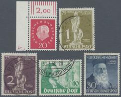 Bundesrepublik Und Berlin: 1949/1990, Umfangreicher Posten In 7 Alben Und In Kobra Kassetten. Dabei, - Duitsland